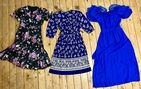 15 Vintage Dresses Retro Job Lot Wholesale